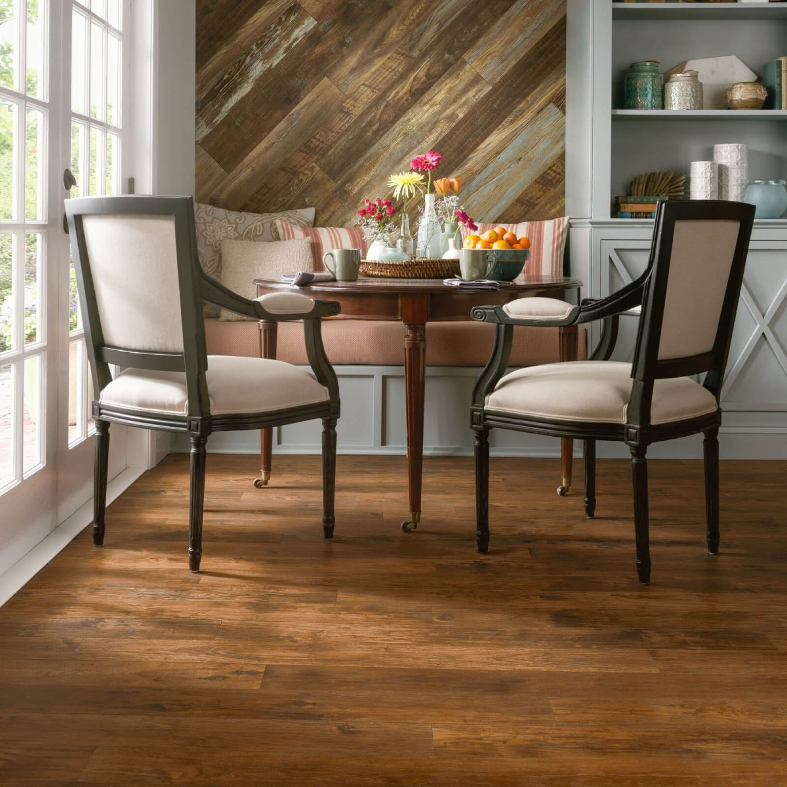 Small dining table on laminate floor | Floors by Roberts