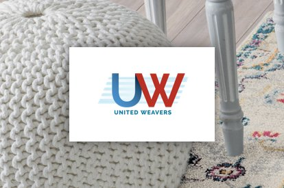 United weavers logo | Floors by Roberts