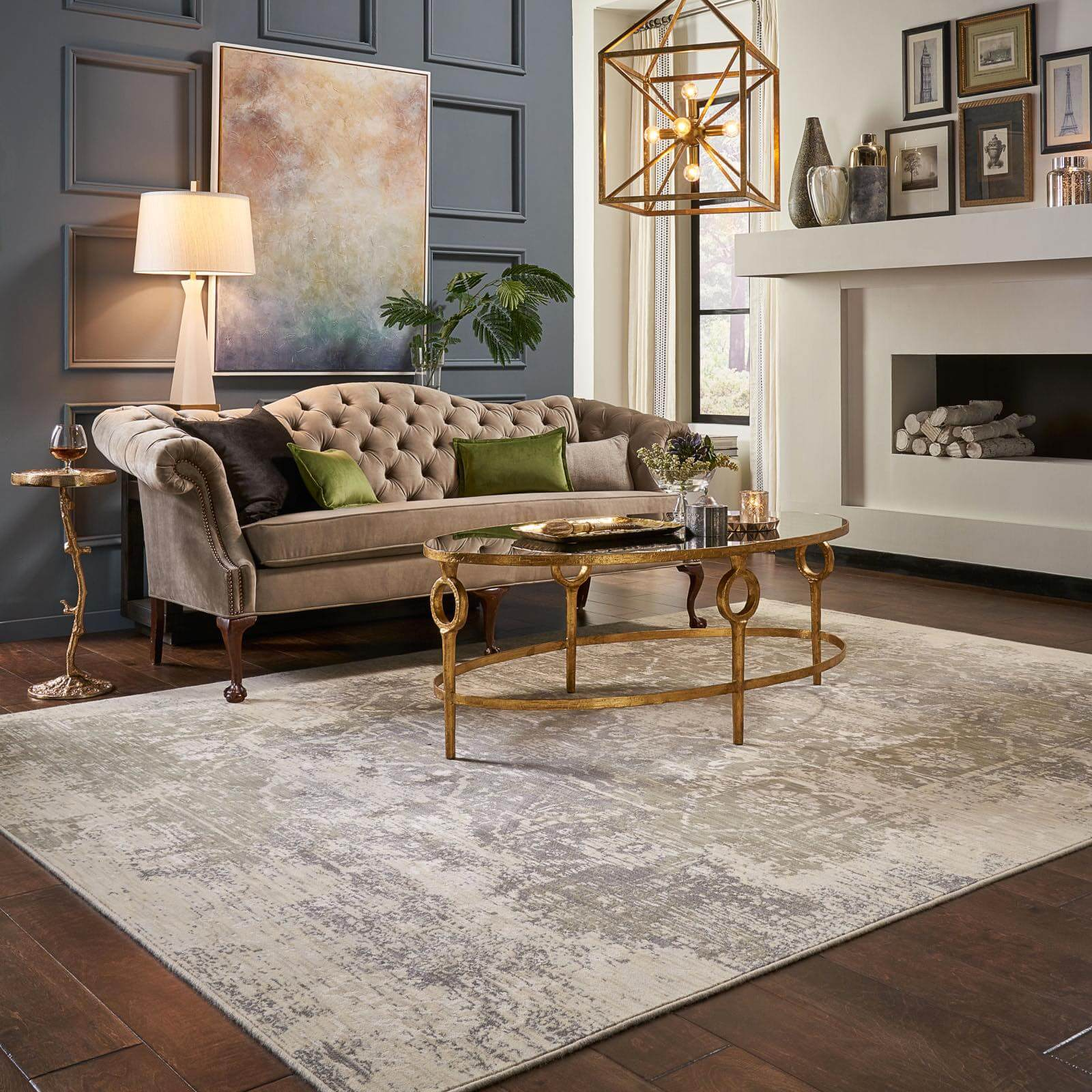 Area Rug in living room | Floors by Roberts