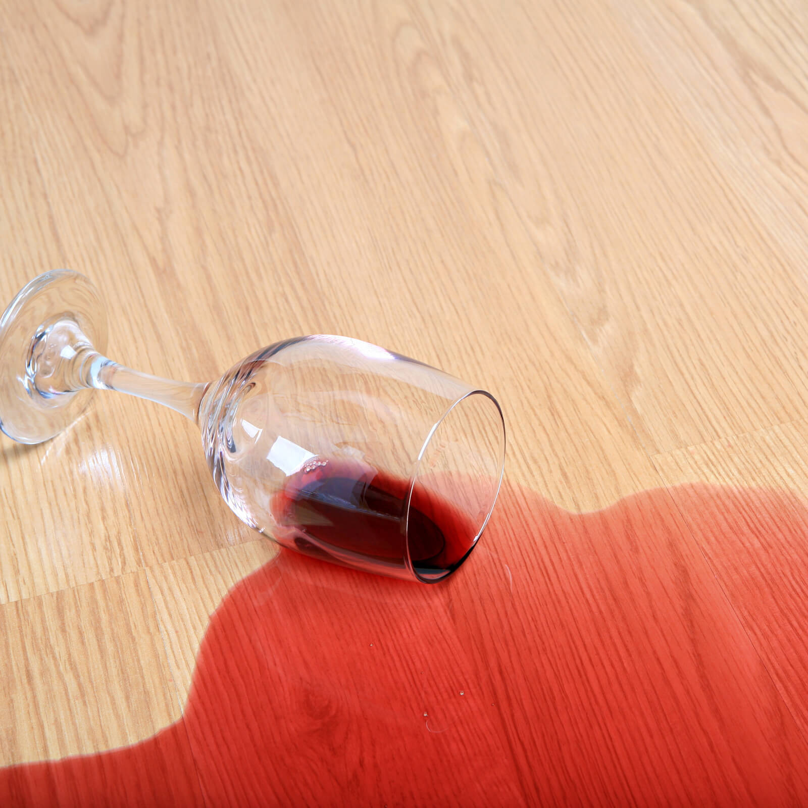 Red wine spill on Laminate | Floors by Roberts