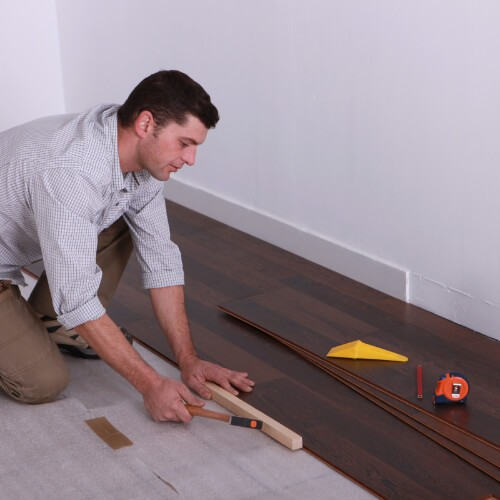Laminate installation | Floors by Roberts