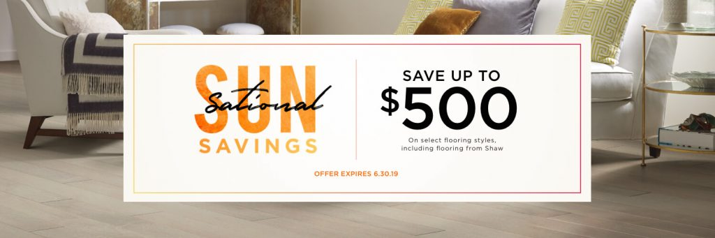 Sun Sational Saving Sale