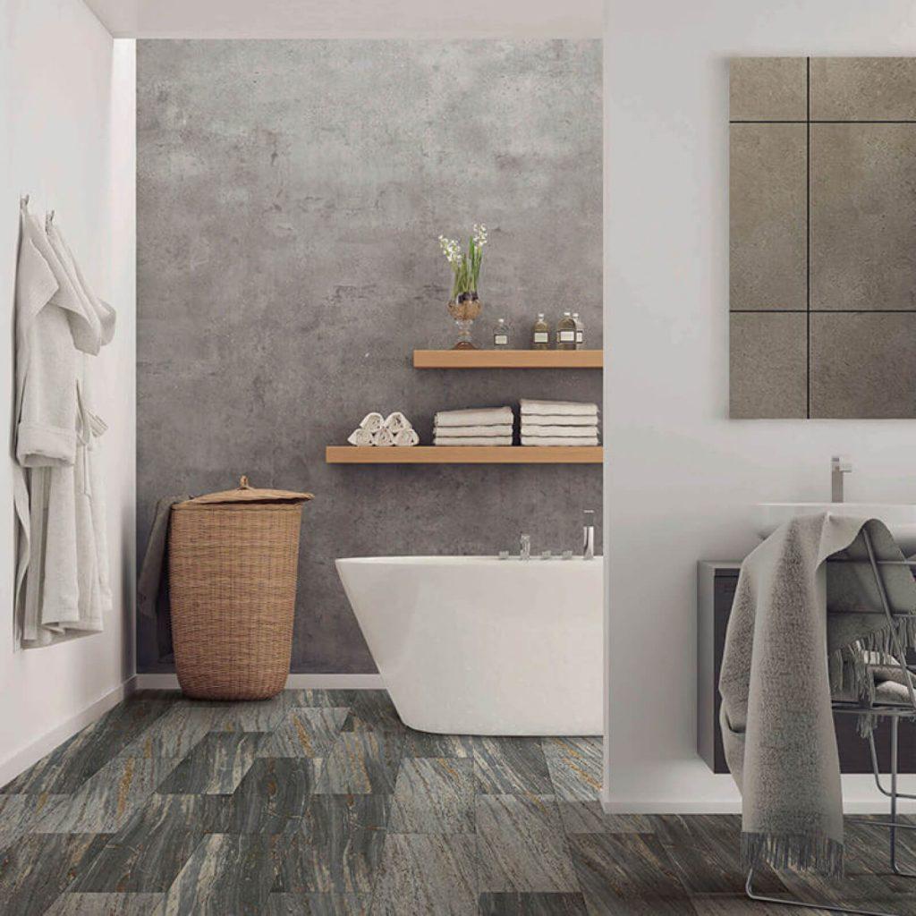 Bathroom floor | Floors by Roberts