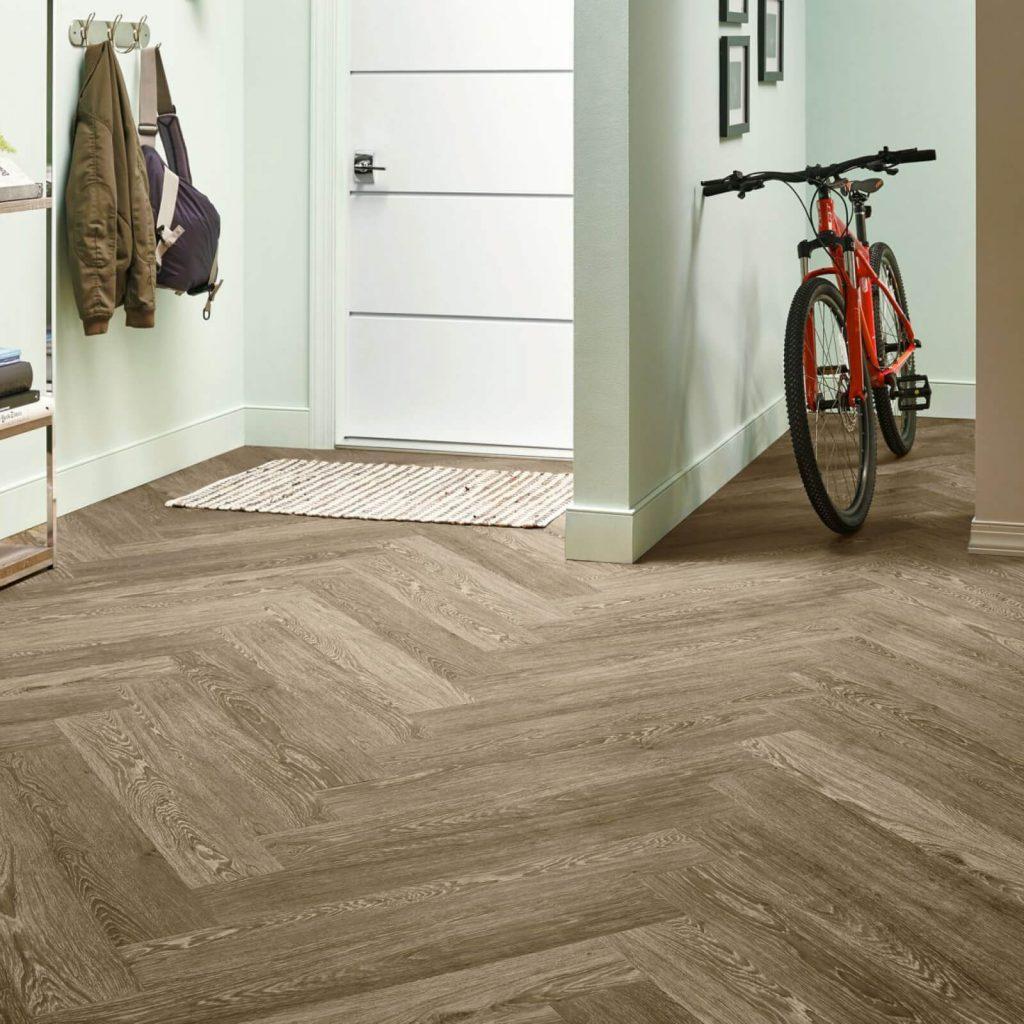 Bicycle on floor | Floors by Roberts