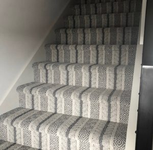 Carpet on stairs | Floors by Roberts