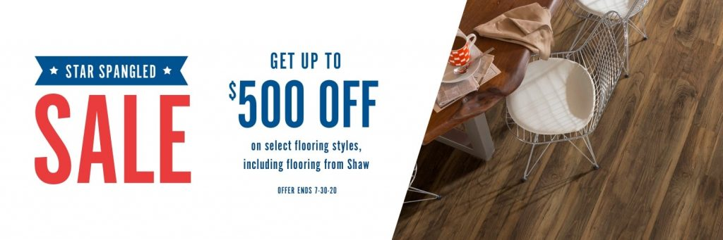 Star Spangled Sale | Floors by Roberts
