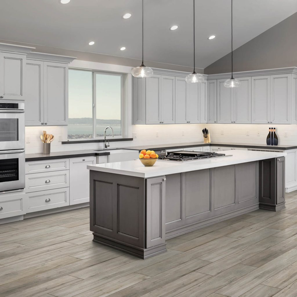 Countertops and cabinets | Floors by Roberts