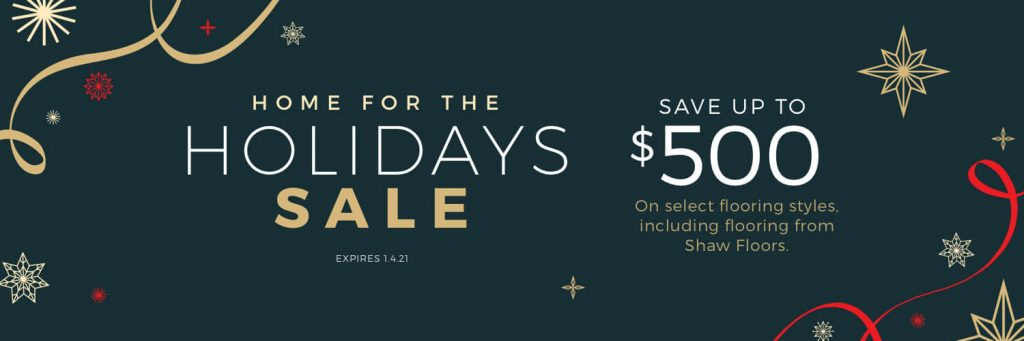 Home For the holiday sale | Floors by Roberts