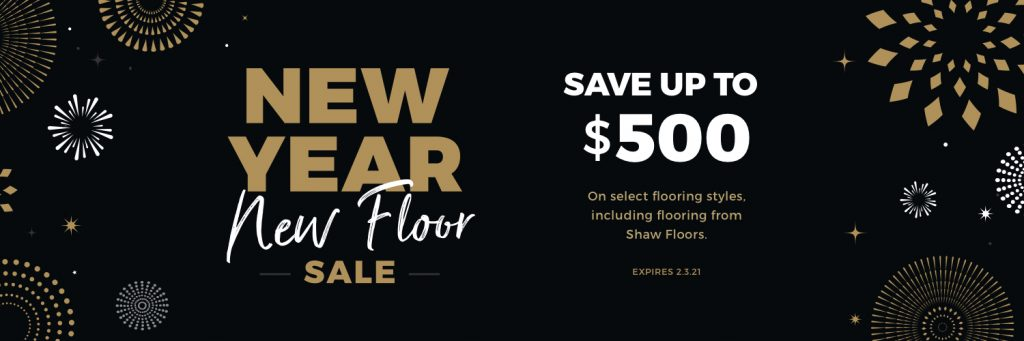 New Year New Floor Sale | Floors by Roberts