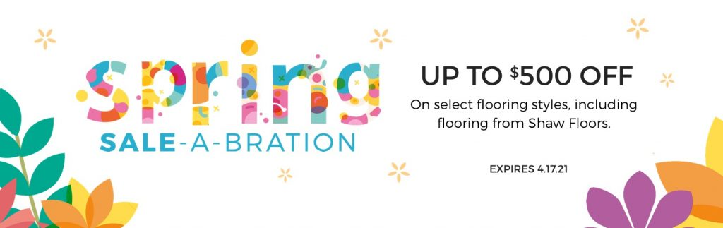 Spring Sale-A-Bration | Floors by Roberts